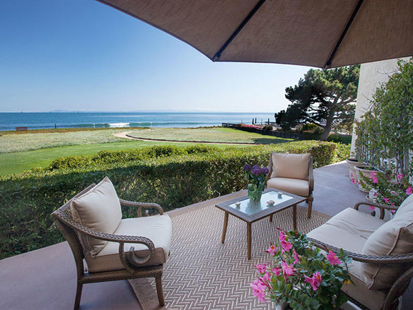 1 Seaview Drive, a beachfront condo in Montecito Shores