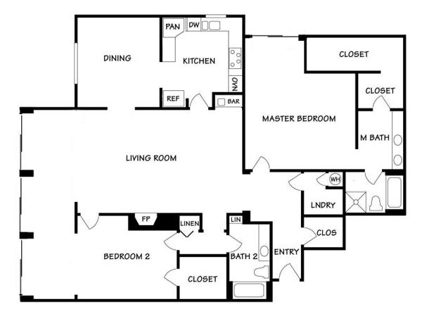 Floorplan for 53 Seaview